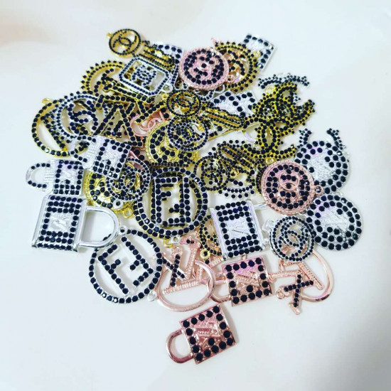 Exclusive Line Sassy Stainless Steel Charms BFS1368 Quantity Options